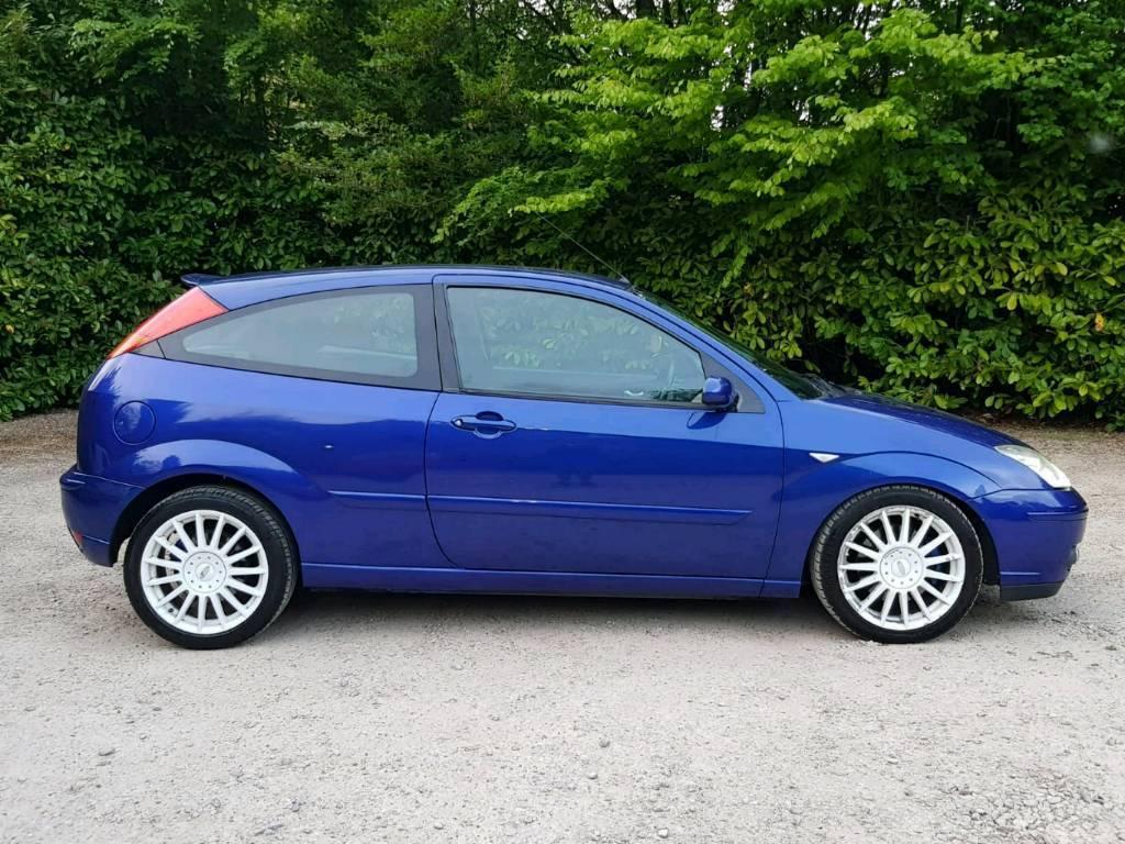 2004 ford focus st 170 blue modified show car not a rep replica bargain cheap run