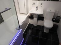 Nearly New Contemporary Bathroom Suite
