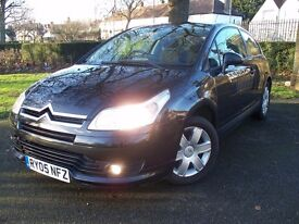 Citroen C4 VTR 1.4 Coupe 2005 Brand New Mot, Only2 Owners, Drives Well, Cheap to Run, Good Condition