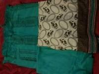 3 piece asian suit unstitched