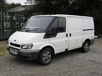 FORD TRANSIT VAN 2001 ALLOY WHEELS ///// FOR SPARES