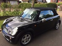 MINI ONE CONVERTABLE, IMMACULATE, FULL HISTORY, RECENT MOT