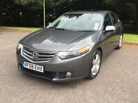 Honda accord 2.2L EX I-DTEC new shape saloon grey executive model fully loaded good condition