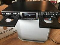 Phillips double cd recorder hifi separates with remote