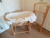 Moses basket plus stands