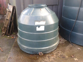 Small plastic storage tanks - 1,200 litres