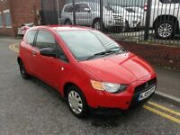 2009 Mitsubishi Colt 1.1 CZ1 3dr Hatchback, FSH Low mileage car, ONLY DONE 50,000 MILES,£1,795