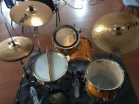 Mapex Horizon Birch Drum Kit with Paiste PST8 cymbals
