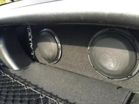 JL Audio Dual 8W3v3 active sub (ACP208LG-W3v3) - Collect from Reading or Bradford