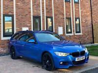 BMW 3 SERIES 330D M-SPORT TOURING X-DRIVE 2013