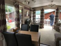 Beautiful static caravan for sale with view over Loch Lomond