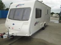 BAILEY PAGEANT MONARCH SERIES 6 TWO BERTH TOURING CARAVAN 2007 ONE OWNER !!!