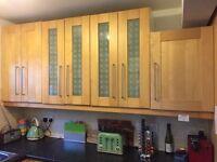 16 Cabinet Ikea Kitchen plus washing machine and hob
