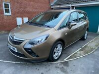 2014 Vauxhall Zafira Tourer 7 Seater Automatic Very Low Miles