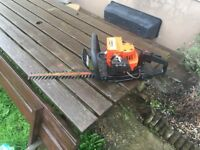 Flymo petrol hedge trimmer