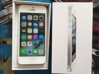 iPhone 5 Unlocked 16GB silver Excellent condition