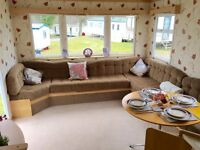 Cheap 8 berth static caravan for sale isle of wight, 12 month seafront park. lowest site fees,8Berth