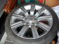 Land Rover alloy wheels x 3 20'' & 1 x 19'' wheel & tyre all £50 each