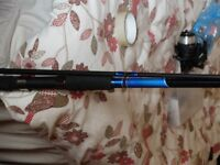 brand new 10ft shakespear sea fishing rod and reel set plus accessories