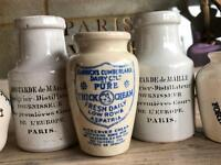 French Vintage Pots