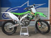 Kxf450 2014 SELLING DUE TO NO TIME FOR BIKE NEVER BEEN RACED RARELY USED