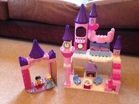 Duplo Cinderella Castle - as new condition rrp £69.00