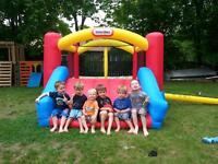 Bouncy castles, snow cone machines, cotton candy machines!