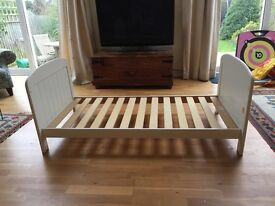 Good quality cot bed and change station. Sturdy good condition from smoke free home