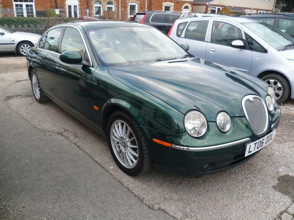 jaguar s type v6 se 4dr auto green 2006 in newton abbot devon gumtree. Black Bedroom Furniture Sets. Home Design Ideas