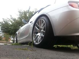 BMW used alloy wheels with continental tyres,,front 18-8.5j,,,rear 18-9.5j