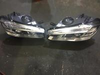 BMW X5 F15 PAIR OF XENON ADAPTIVE HEAD LIGHTS COMPLETE
