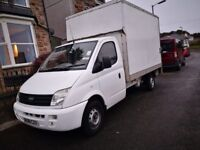 Cornish man & luton van starting price £15, based in Camborne, all areas covered.