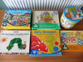 (Toys) Educational games and puzzles (age 3 -6)