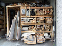 Miscellaneous timber sections and other items in timber store clearance
