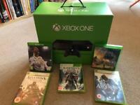 XBOX ONE + FIFA 18 + AC ORIGINS