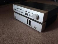 Harman Kardon HK725 Pre Amplifier + HK770 Power Amplifier