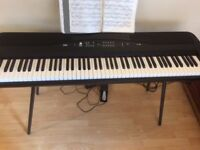 Korg SP-280 RRP650 in immaculate condition, sold with the box, stand, notes holder and headphones