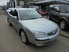 2005 05 ford mondeo 2.2 diesel ghia x 6 speed, 12 months mot. 30 + cars in stock.