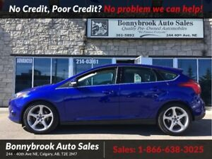 2013 Ford Focus Titanium navigation p/sunroof bluetooth leather