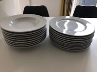 LSA dinner plate and bowl set