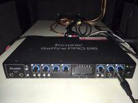 Focusrite Saffire Pro 26 Firewire / Thunderbolt audio interface