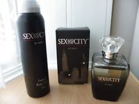 New Sex & the City by Night Perfume 100ml and Body Spray 150ml