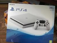 ps4 slim white 500gb brand new **READ FIRST** !!!