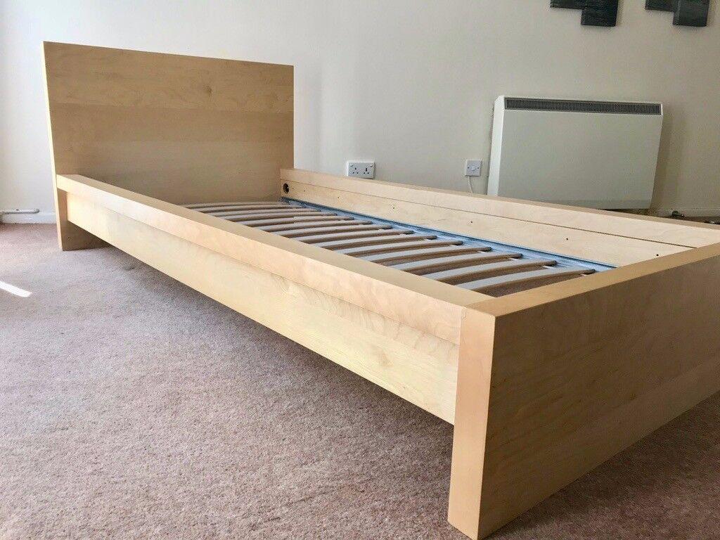 Single Bed Ikea Malm In Salisbury Wiltshire Gumtree