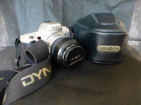 Minolta Dynax 404STsi 35mm rollfilm camera