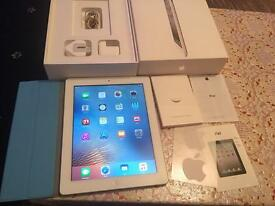 "Apple iPad 4th generation bigger 9.7"" 16GB wifi only boxed pristine condition no offers"