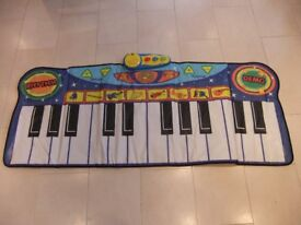 KIDS MUSICAL TOY GIANT PIANO MAT from JOHN LEWIS - excellent condition!