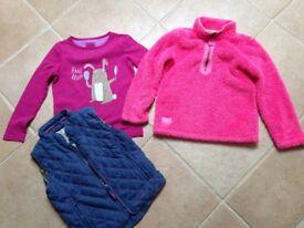 Girls Joules Bundle age 7-8 years, Fleece, Gilet, top