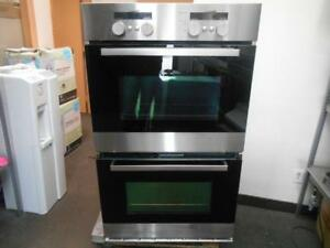 FOUR ENCASTRE DOUBLE WHIRLPOOL EN INOX  / STAINLESS BUILT-IN WHIRLPOOL DOUBLE OVEN