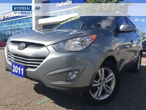 2011 Hyundai Tucson GLS | AWD | LEATHER | ALLOYS | ONE OWNER